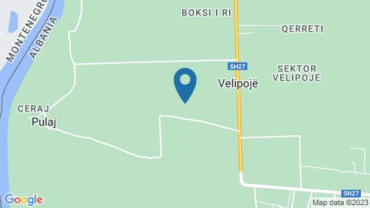 Guesthouse Ara Vjeter Map