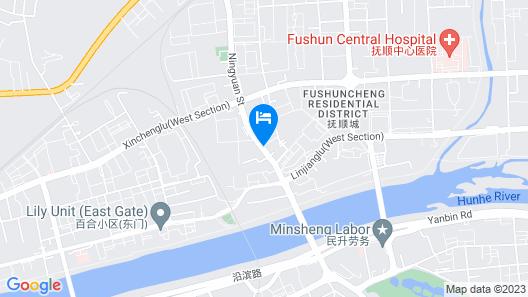 Jinjiang Inn Fushun Yong'an Bridge Qiao Wanda Plaza Map