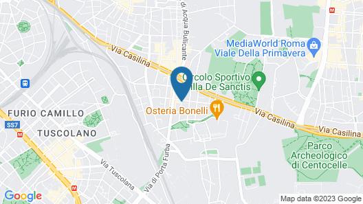 Torpignattara Map