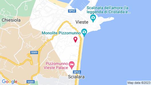 Hotel Cristalda Map