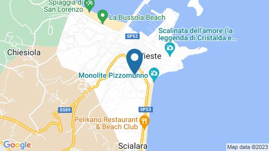 Hotel Mediterraneo Map