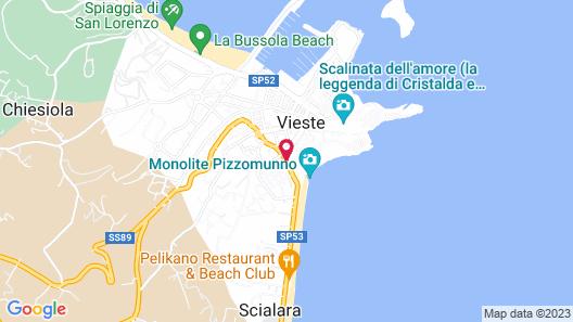 La Caravella Map