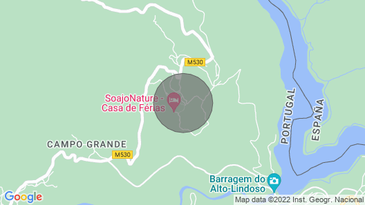 Mountain Lodge Soajo Peneda-geres Map