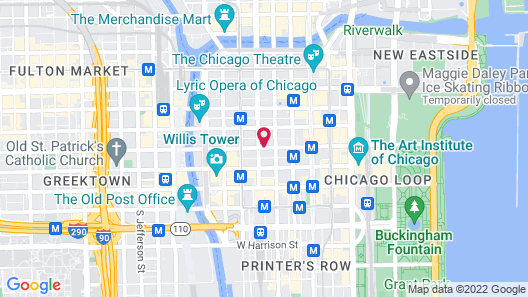 Kimpton Gray Hotel Map