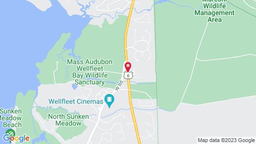 Wellfleet Motel and Lodge Map