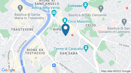 Circo Massimo Guest House Map
