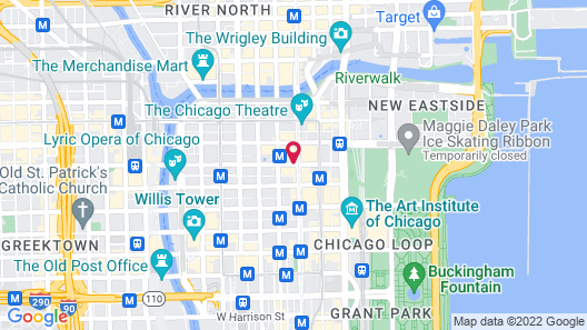 Staypineapple, An Iconic Hotel, The Loop Map