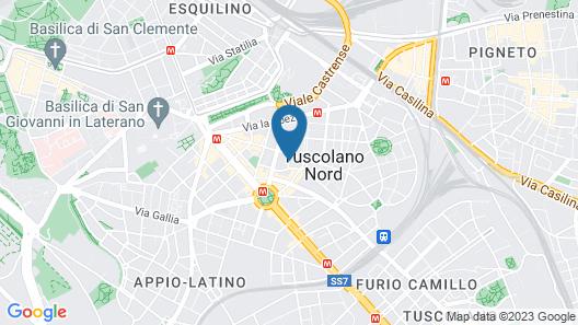 B&B San Giorgio Map