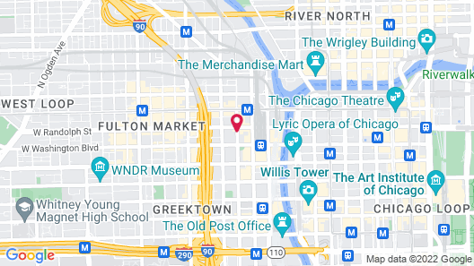 Homewood Suites by Hilton Chicago Downtown West Loop Map