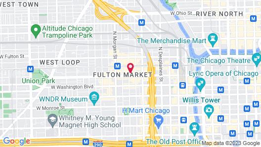 Nobu Hotel Chicago Map