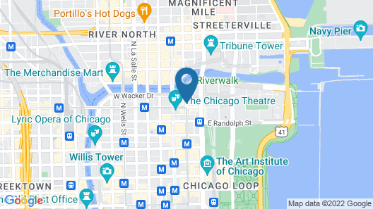 Virgin Hotels Chicago Map