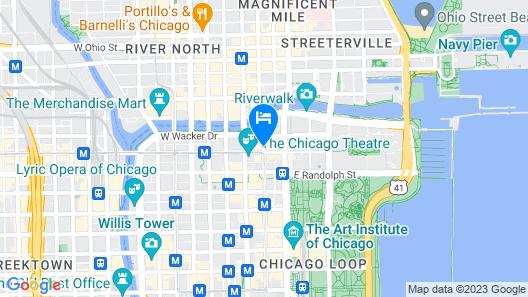 Virgin Hotels Chicago Map
