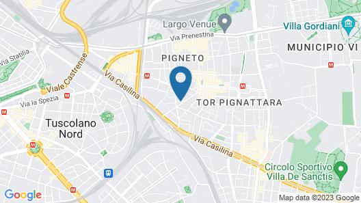 I Villini del Pigneto Map