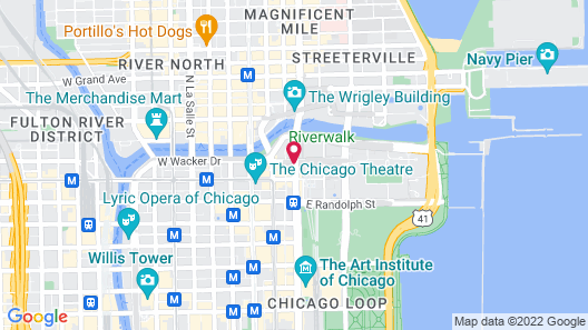 Pendry Chicago Map