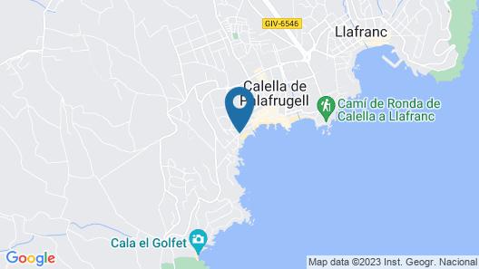 Hotel Mediterrani Map