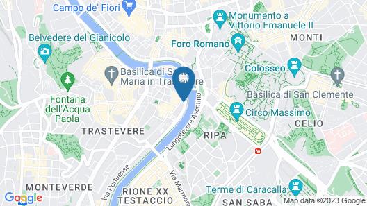RIPENSE IN TRASTEVERE Map