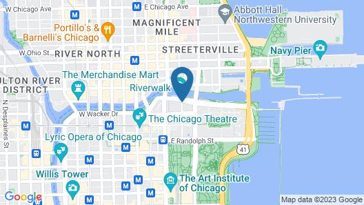 Hyatt Regency Chicago Map