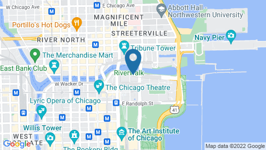 Corporate Suites Network At Columbus Plaza Map
