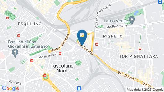Eurostars Roma Aeterna Map