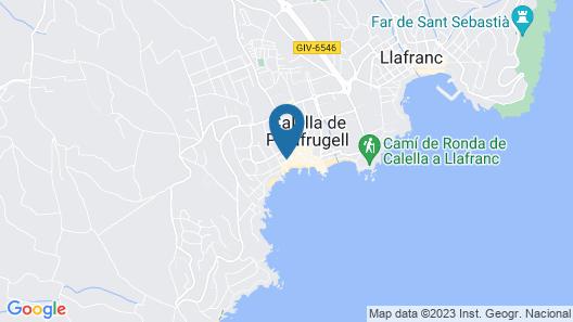 Acogedor Loft en Calella de Palafrugell Map