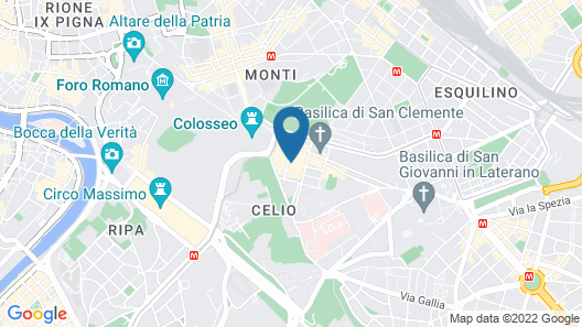 Bellezza al Colosseo B&B and Apartments Map