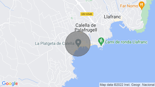 Apartment in Palafrugell - 104284 by MO Rentals Map