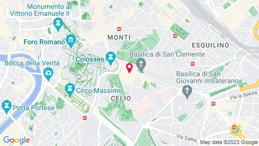 Hotel Celio Map