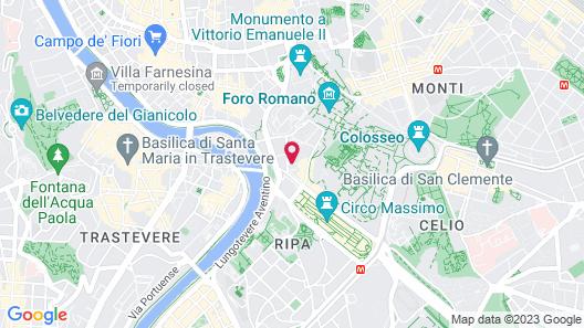 Palazzo al Velabro Map