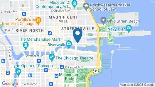 Sheraton Grand Chicago Map