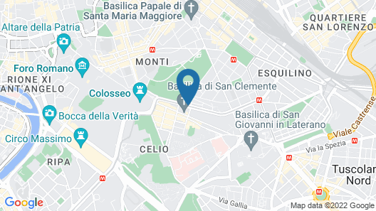 Mercure Roma Centro Colosseo Map