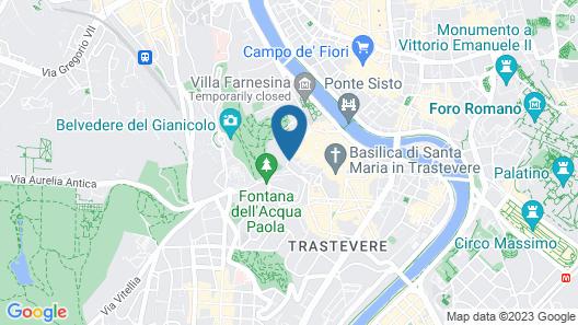 Donna Camilla Savelli Hotel Map