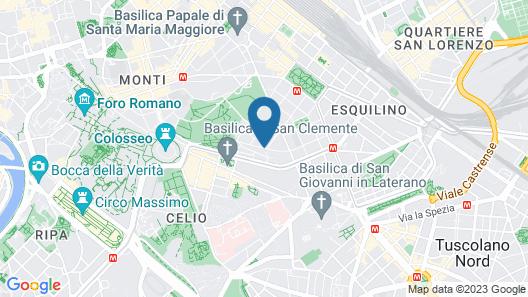 La Terrazza sul Colosseo Map