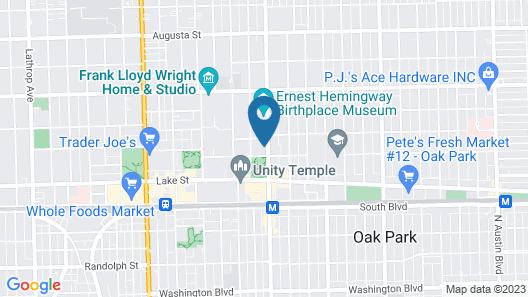 The Write Inn Map