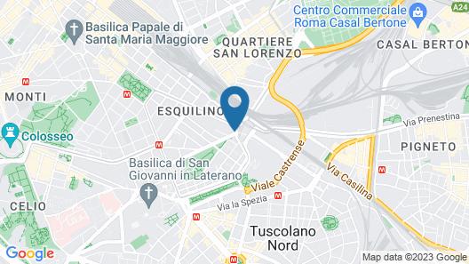 SHG Hotel Portamaggiore Map