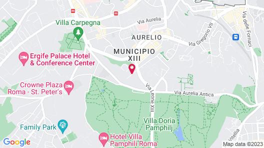 Cardinal Hotel St Peter Map
