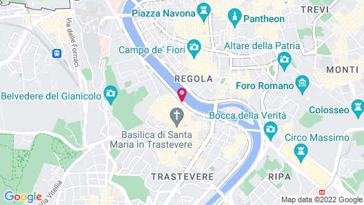 Core de Roma Suites Map