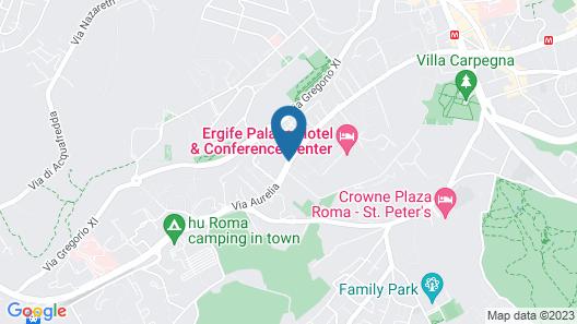 Raganelli Hotel Map