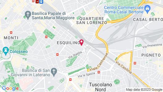 Hotel Donatello Map