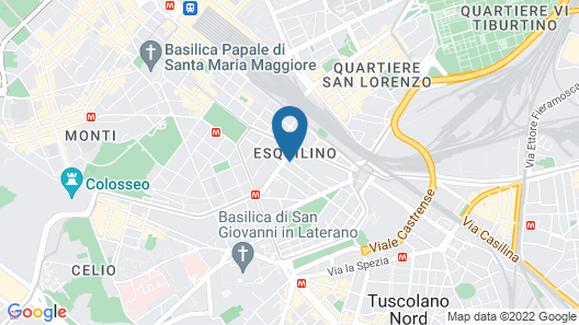 Free Hostels Roma Map