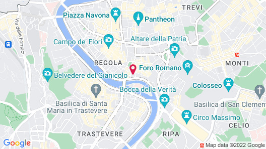 Hotel Monte Cenci Map