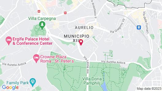 NH Roma Villa Carpegna Map