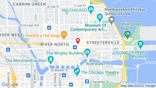 Freehand Chicago Map