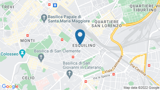 Hostel Melting Pot Rome Map