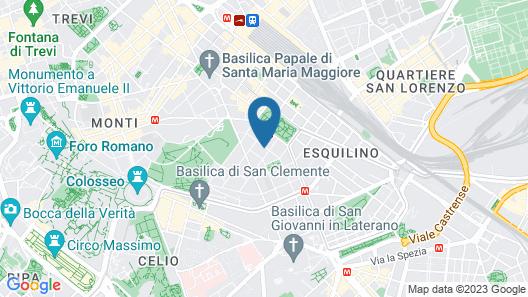 Casa per Ferie Domus Helena Map