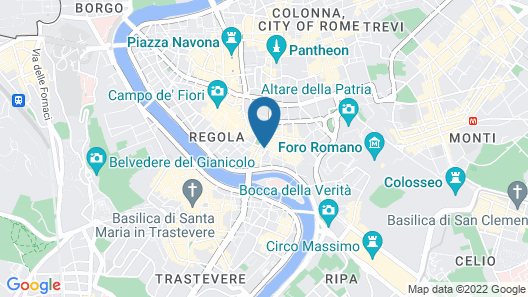 Hotel Chapter Roma Map