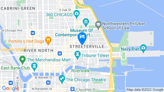 Fairfield Inn & Suites Chicago Downtown / Magnificent Mile Map