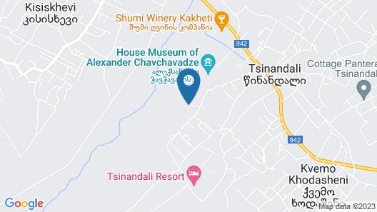 Park Hotel Tsinandali Estate Map