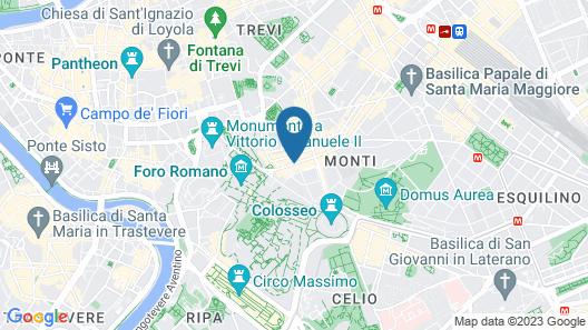 Hotel Foro Romano Map