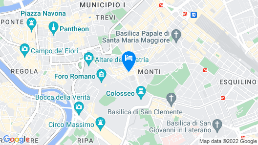 Hotel Ferraro Map