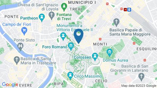 Hotel Forum Map